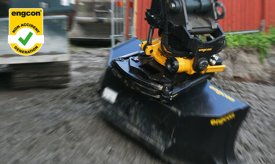 Tiltrotator – for maximum safety