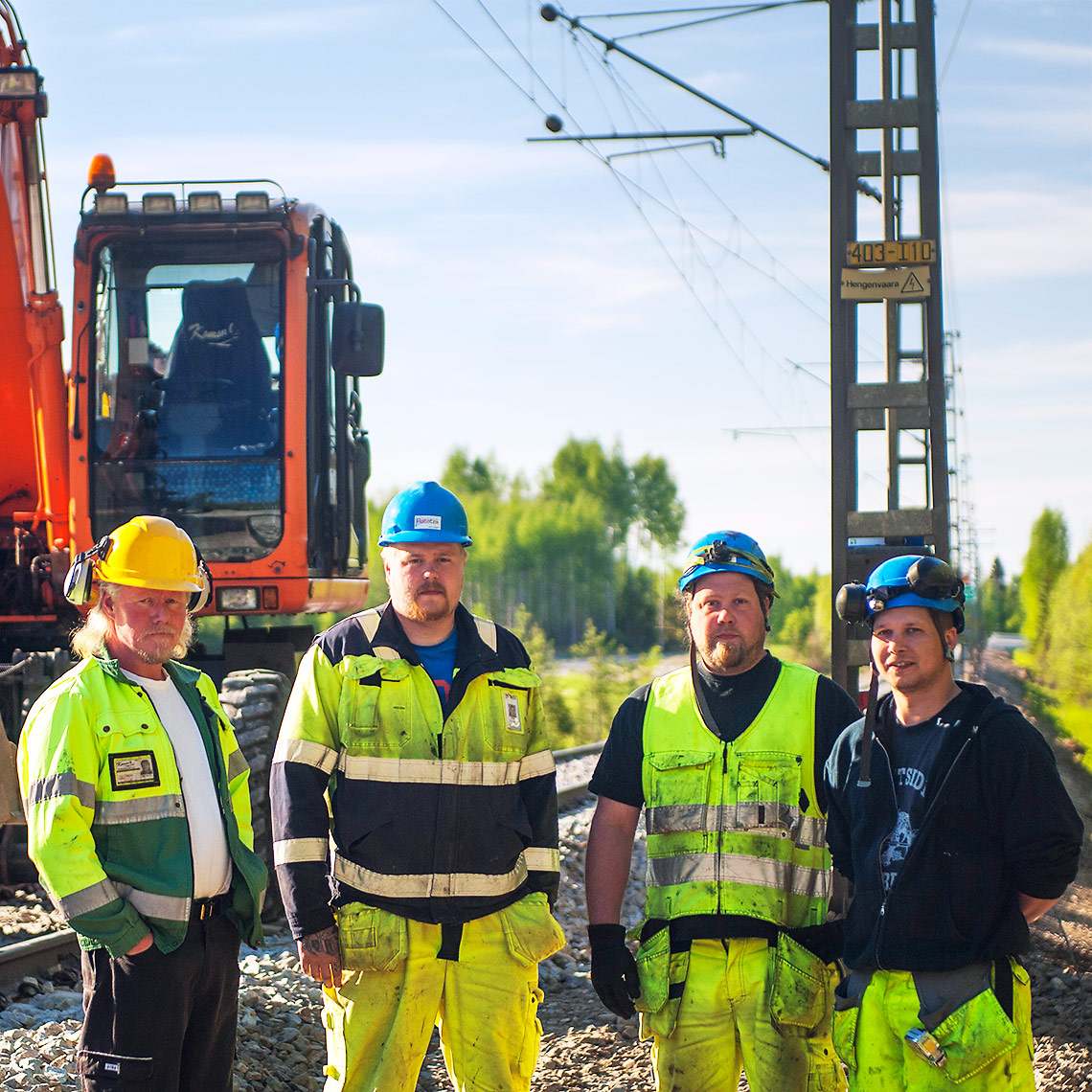 """When working on the railway the Tiltrotator is an absolute necessity"""